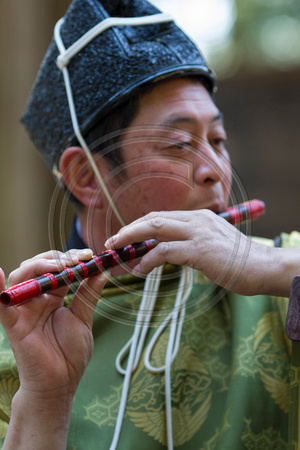 Shinto musician, Takayama Spring Festival