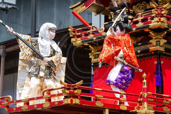 Children's Kabuki play, Hida-Furukawa